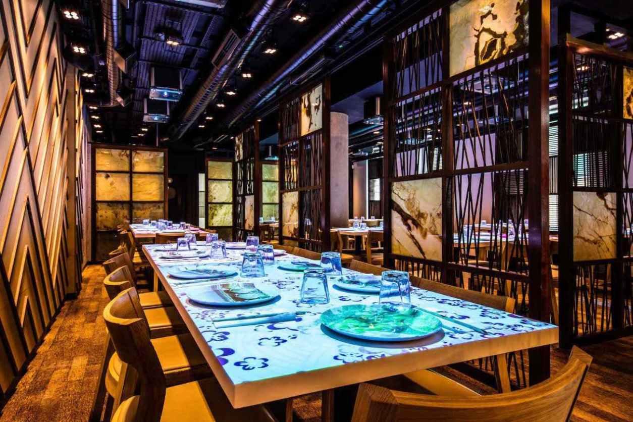interior-of-inamo-restaurant-bottomless-brunch-covent-garden