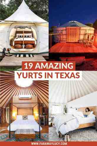 Texas Yurts: 19 Amazing Yurts in Texas You Need to Stay At [2021]. From treehouse yurts to yurts with hot tubs to yurts with hilltop views, here are 19 amazing yurts in Texas you need to stay at! Click through to read more...