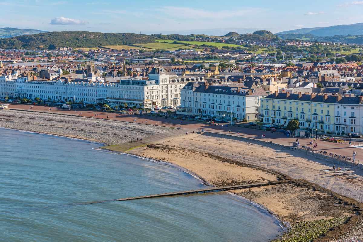 aerial-view-of-llandudno-seaside-town-beaches-in-liverpool