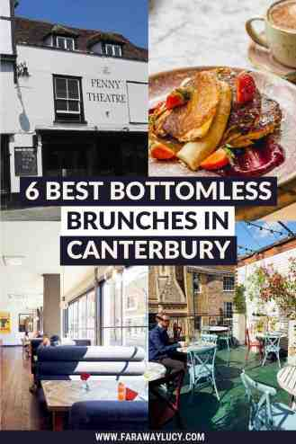Bottomless Brunch Canterbury: 6 Best Brunches You Need to Try [2021]. From pizza to street food to Asian cuisine, here are the 6 best places to go for bottomless brunch in Canterbury! Click through to read more...