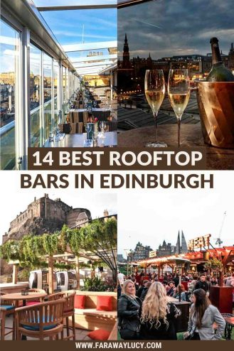 14 Best Rooftop Bars in Edinburgh with Amazing Views [2021]. From rooftop bars with street food and music to rooftop bars with amazing views, here are the 14 best rooftop bars in Edinburgh! Click through to read more...