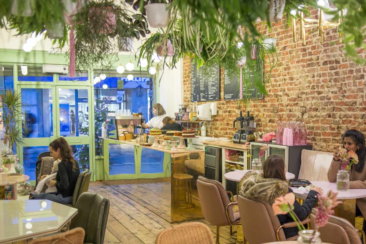 interior-of-palm-vaults-instagrammable-cafes-london