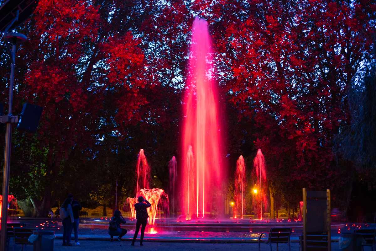 music-fountain-in-the-margarita-island-park-lit-up-at-night-romantic-things-to-do-in-budapest