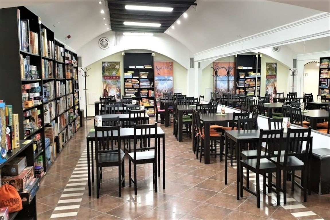 tables-inside-board-game-cafe-indoor-activities-budapest