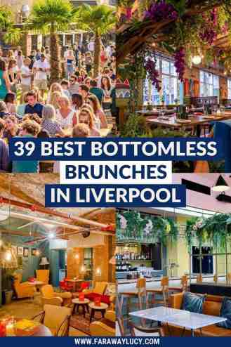 From brunches with live music to brunches with bowling, here are the 39 best places to go for bottomless brunch in Liverpool! Click through to read more...