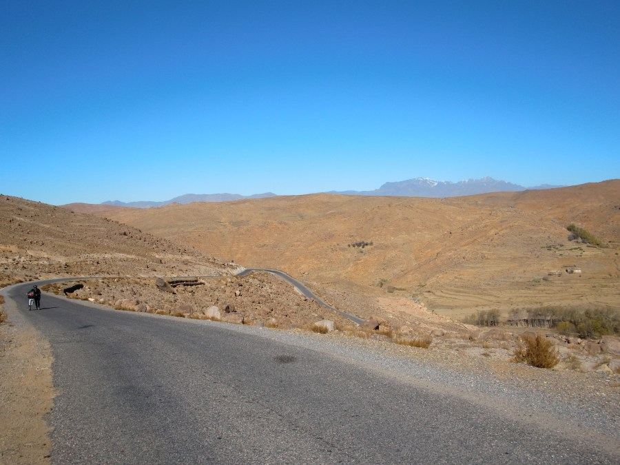 The road to Taliouine