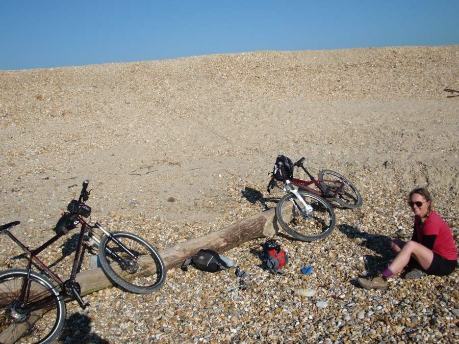 A ride too far cycling the solent hurst spit