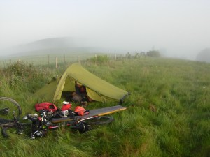 Wildcamping on Hambledon Hill Dorset