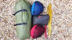 Bivvy and tarp compared with tent