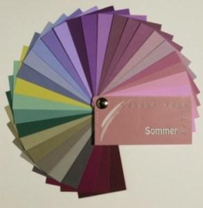 Fabpass für den Farbtyp Sommer