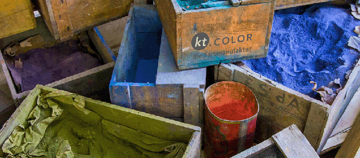 kt.COLOR Naturpigmentfarben