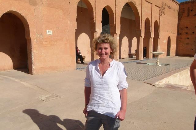Farbenrausch in Marrakech