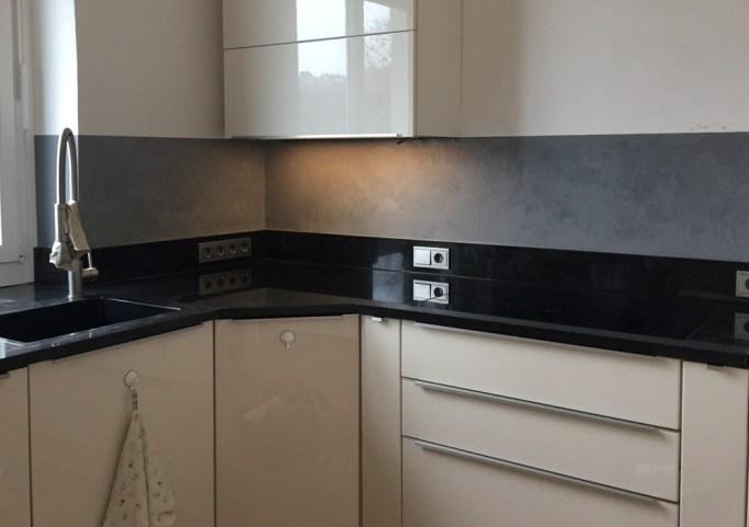 wasserfester Putz in der Küche