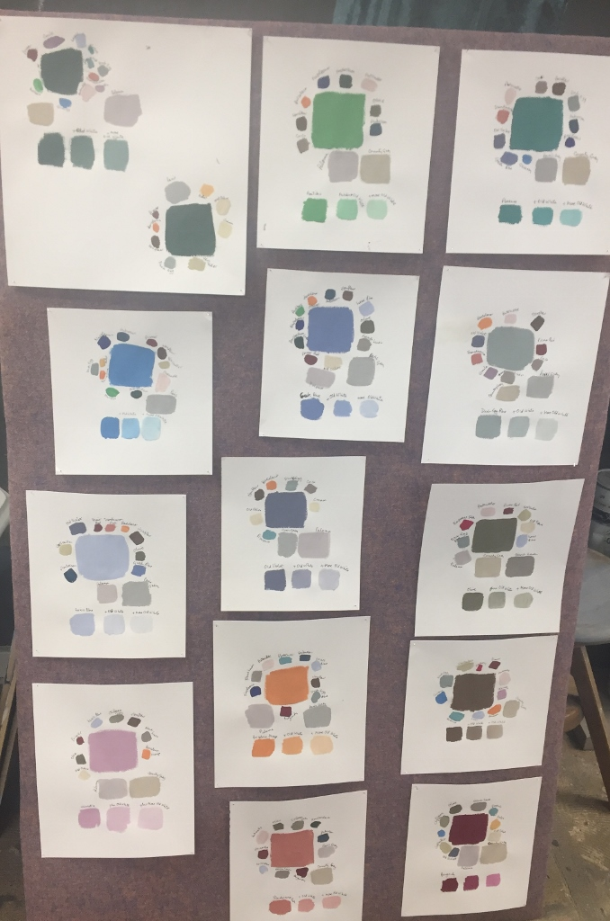 Farbkompositionen