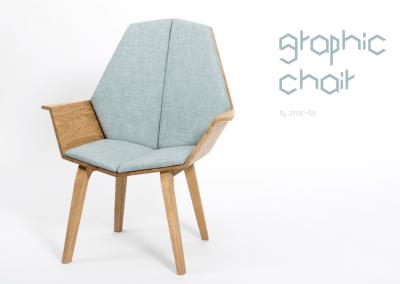 Grafik Chair von Jonas Hoeer