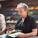 Buchsignierung mit Annie Sloa
