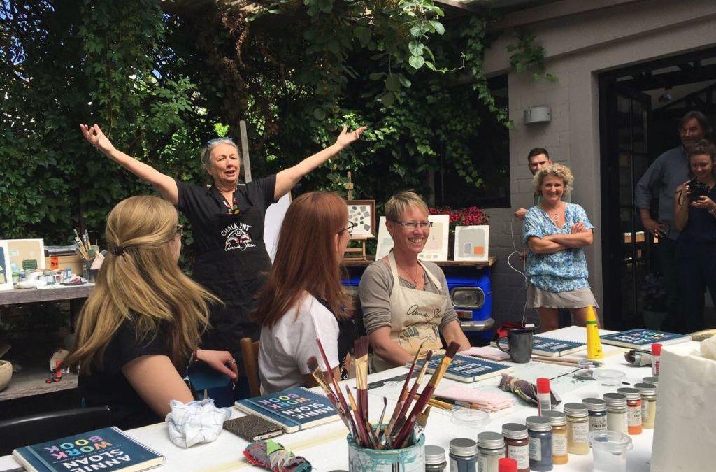 Annie Sloan zu Besuch in Bonn – ein Interview