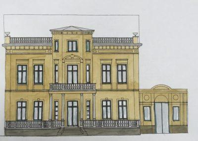 Farbkonzept Fassade