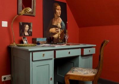 Anna von Mangold Farbe in einem tollen Rot