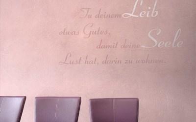 Wandfarbe Pastell und die Gewinnerin der 1. Design Wand