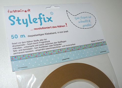 Stylefix farbenmix, Tape zum Nähen