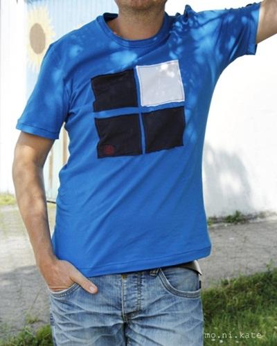 Männershirt nähen, Schnittmuster, Fotoanleitung farbenmix