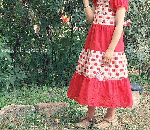 Schnittmuster Einschulungskleid Tini, farbenmix