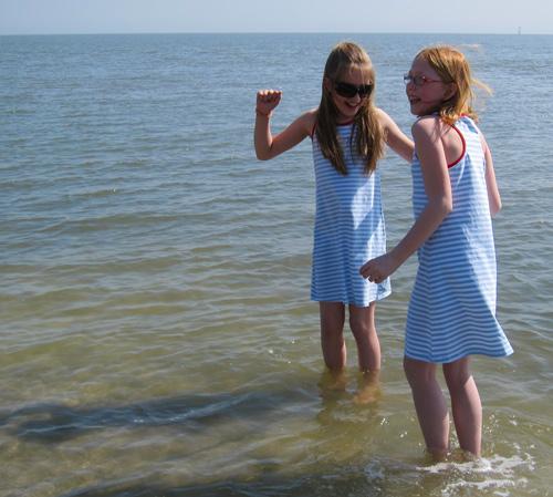 Schnittmuster Strandkleid, Fotoanleitung farbenmix