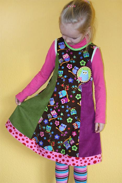 MURIEL Schnittmuster Kleid farbenmix