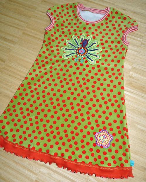 Schnittmuster Strandkleid, Jerseykleid, farbenmix.de