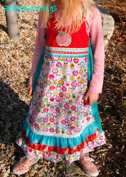 VIDA Schnittmuster Kleid Sommerkleid Mädchen farbenmix