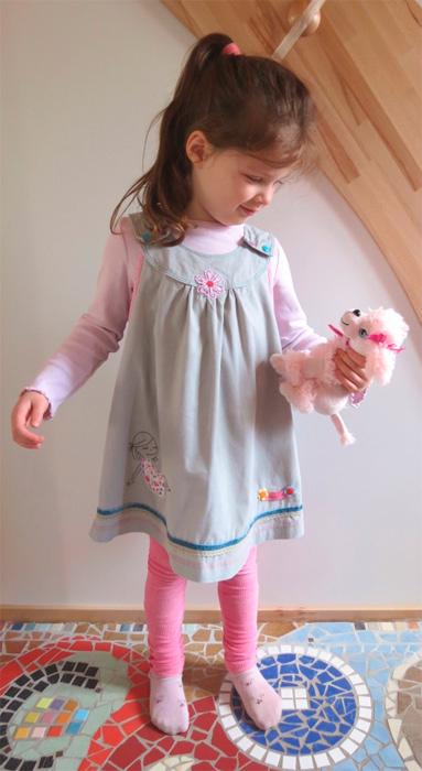 ODA Kleid Schnittmuster nähen Mädchen farbenmix