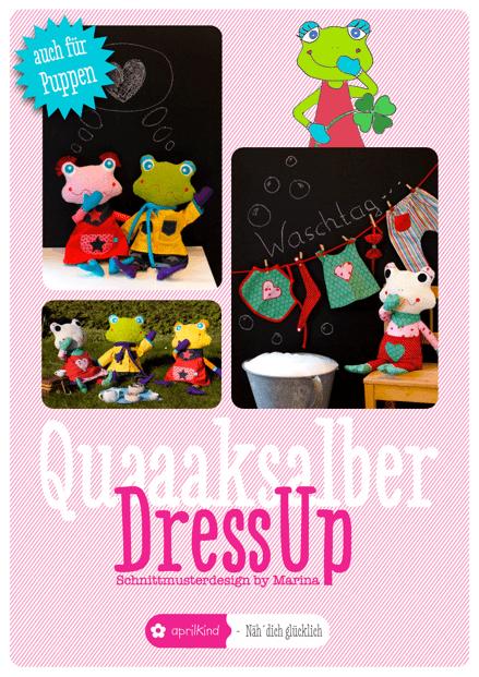 Puppenkleidung selber nähen, Schnittmuster und Anleitung
