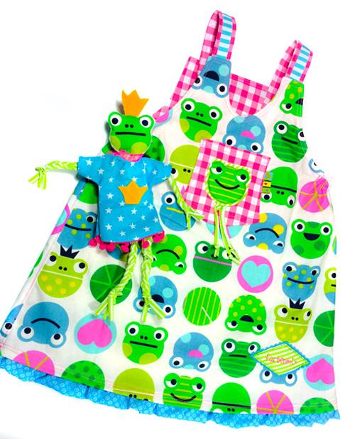 Kleider für kleine Mädchen, leicht zu nähen, Schnittmuster MARIEKE