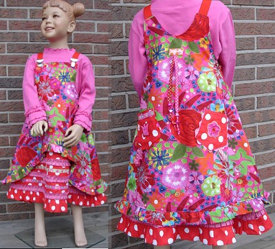 Schnittmuster-Kleid-MARIEKE-gedoppelt-gebluemt-farbenmix.de