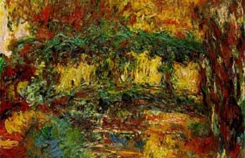 Wie Claude Monet seinen Seerosenteich sah: Farbimpulse
