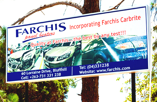 Farchis Panel Beaters Spray Painters Harare Zimbabwe