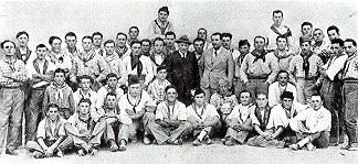 La Camerata dei Canterini Romagnoli di San Pietro in Vincoli, 1930