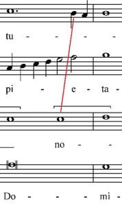 O bone et dulcis Domine, S, A, T, B, mis. 27