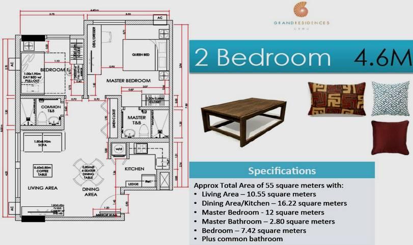 Grand Residences Condominium For Sale In Banilad Cebu City
