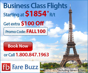 Fare Buzz Business Class