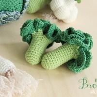 Lo schema dei broccoli a uncinetto.