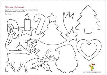 Oltre a lavoretti e ornamenti sono presenti anche biglietti e. Disegni Di Natale Per Il Fai Da Te Con I Bambini Fare Disegnare Giocare