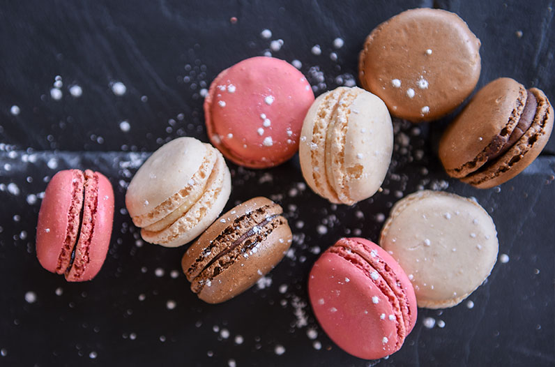 Learn to bake Macarons class as Fareham College