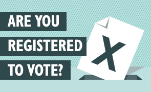 Register to vote by 18th April! | Fareham