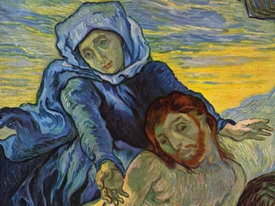 La Pietà di Vicent Van Gogh