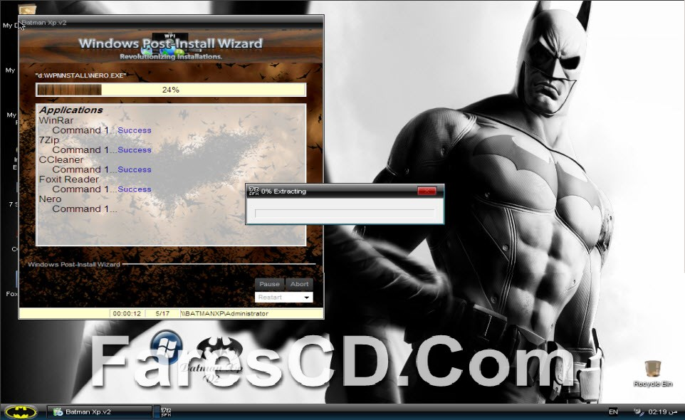 ويندوز إكس بى باتمان 2 Windows Xp SP3 batman v2 (15)