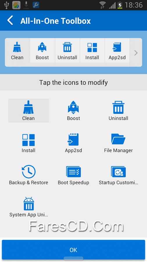 تطبيق إدارة هواتف أندرويد  All-In-One Toolbox Pro (29 Tools) 5.1.5 (1)