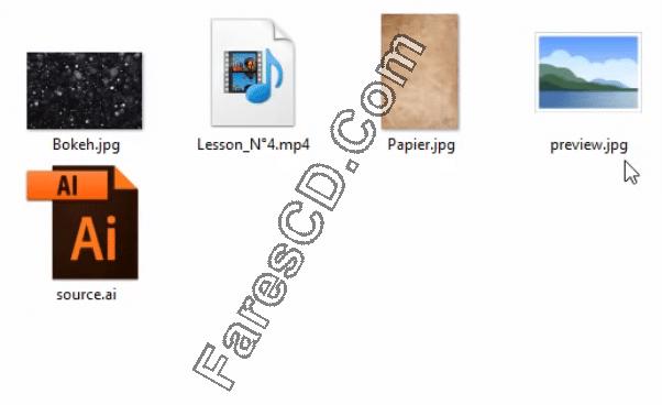 كورس أدوبى اليستريتور عربى مع دروس تطبيقية (3)