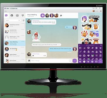 برنامج فيبر للكومبيوتر   Viber for Windows